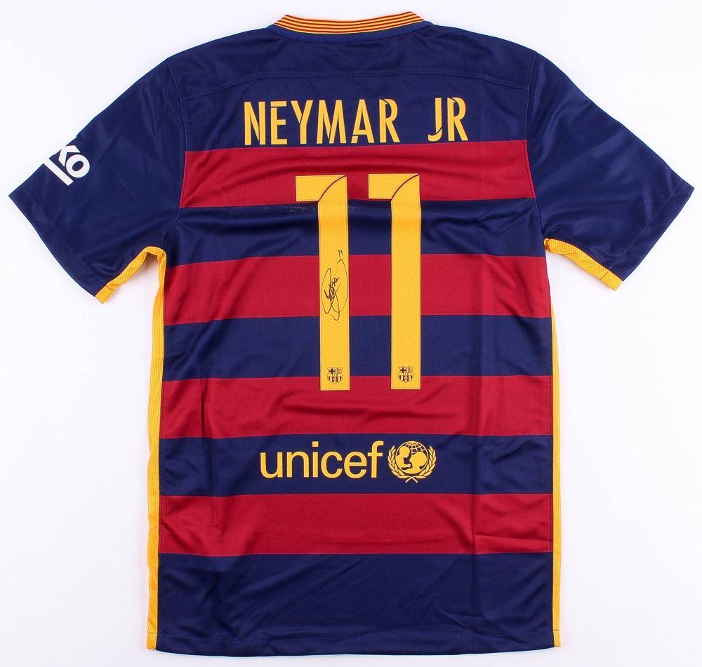 91773101f37 Image 1   Neymar Jr. Signed Barcelona Jersey (Neymar COA)