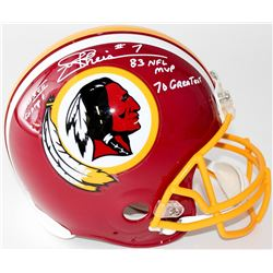 "Joe Theismann Signed LE Redskins Full-Size Authentic Pro-Line Helmet Inscribed ""SB XVII Champs,"" ""83"