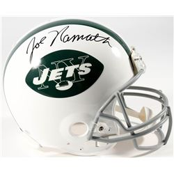 Joe Namath Signed Jets Full-Size Helmet (Namath Hologram)