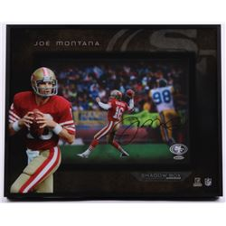 Joe Montana Signed 49ers 16x20x3 Custom Framed Shadowbox Display (UDA COA)
