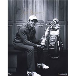 "Rory McIlroy Signed LE ""Locker Room"" 16x20 Photo (UDA COA)"