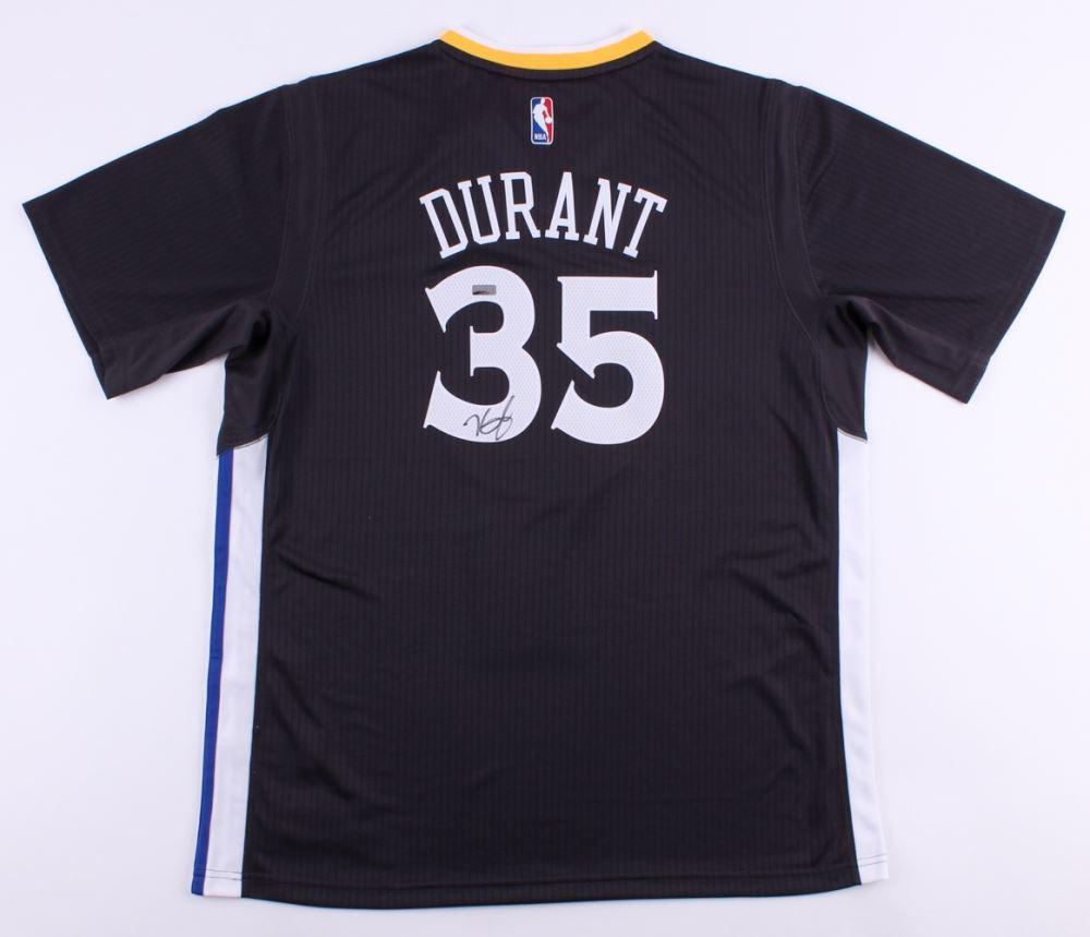 953256b9a Image 1   Kevin Durant Signed Warriors Adidas Jersey (Panini COA)