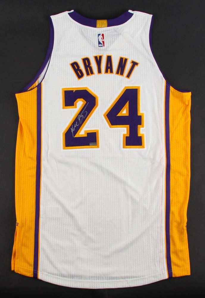 7d382fec90d Image 1   Kobe Bryant Signed Lakers Adidas Authentic Jersey (Panini COA)