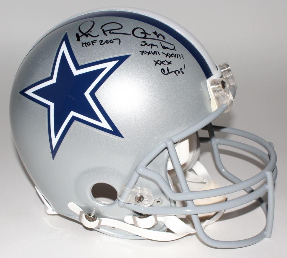 482fe71d723 Image 1   Michael Irvin Signed LE Cowboys Full-Size Authentic Pro-Line  Helmet