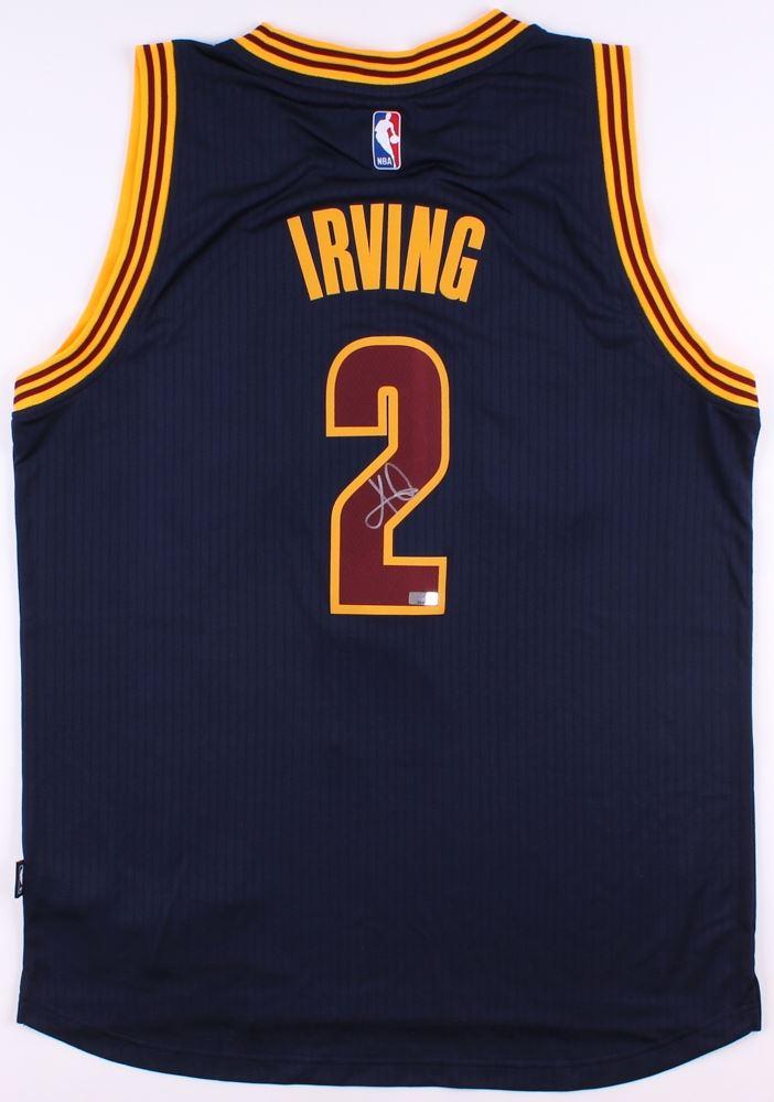 promo code 398e1 05356 Kyrie Irving Signed Cavaliers Authentic Adidas Swingman ...
