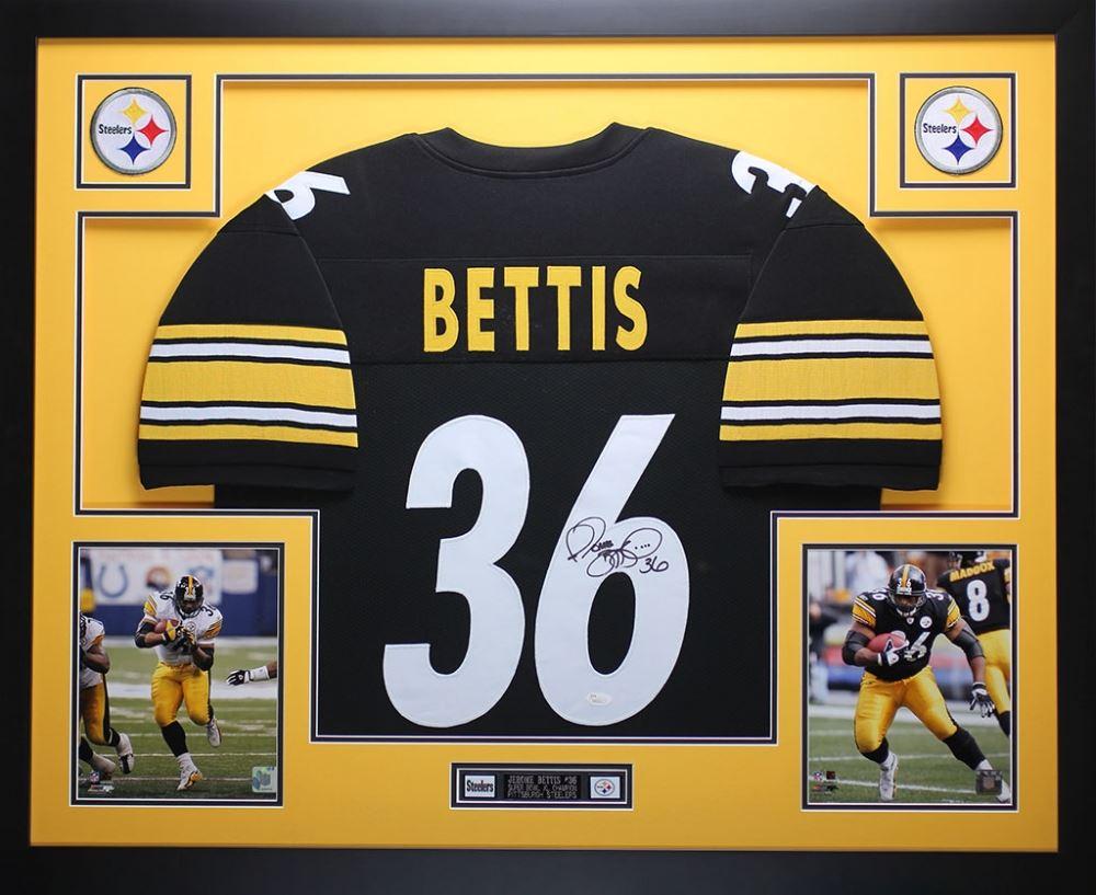 f1e9852c74b Image 1 : Jerome Bettis Signed Steelers 35