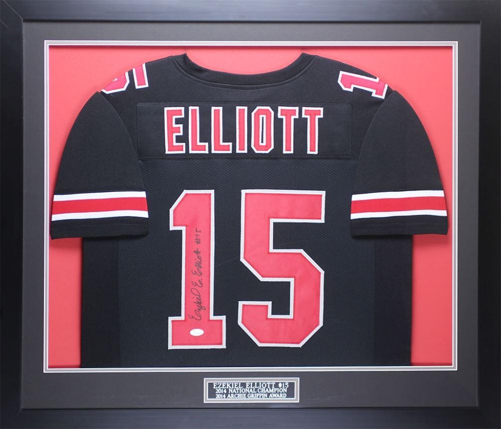 d8f12657211 Image 1 : Ezekiel Elliot Signed Ohio State Buckeyes 35