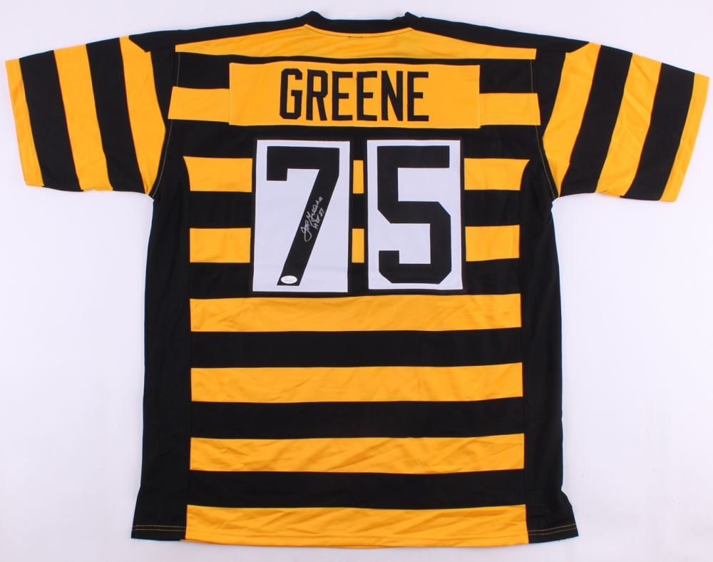 b56bfac89 Image 1   Joe Greene Signed Steelers Throwback Jersey Inscribed
