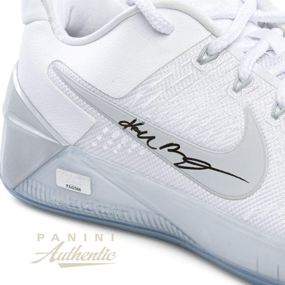 Kobe Bryant Signed Nike Kobe A D Shoes Panini Coa