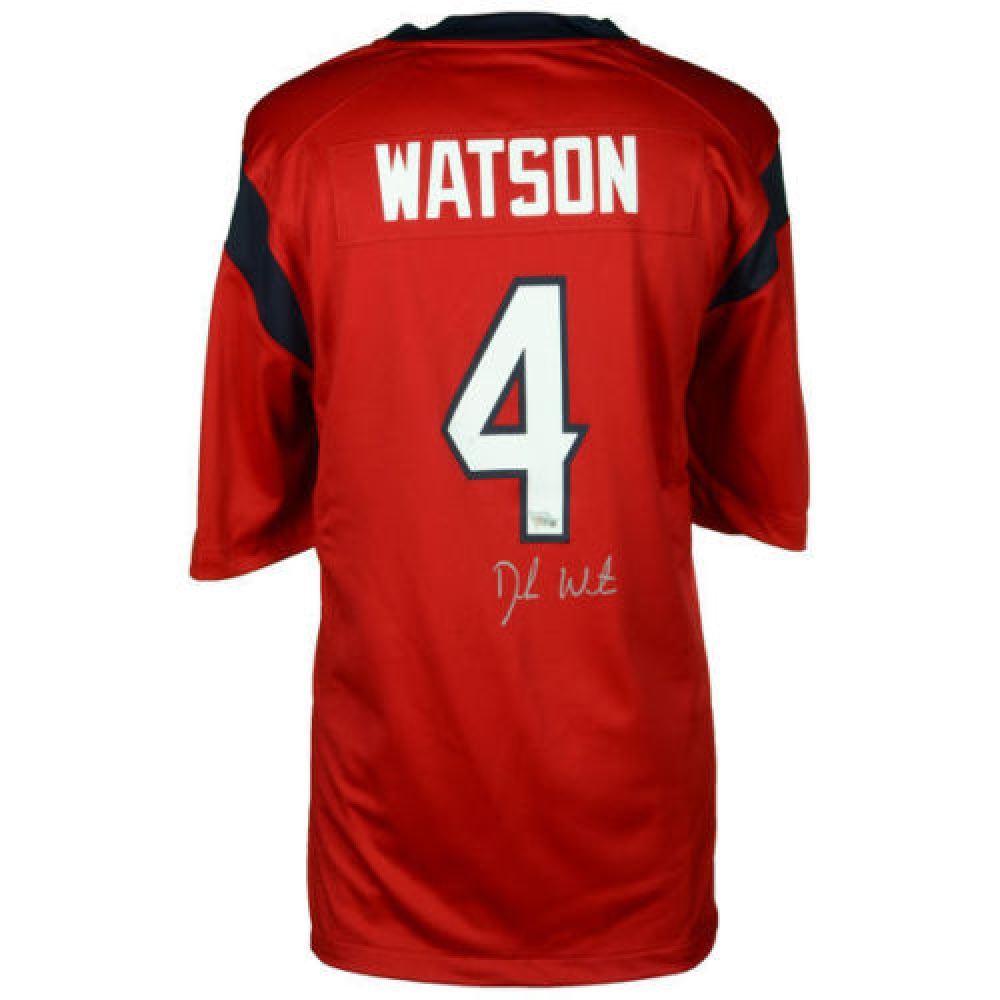 best service 32af0 aa274 Deshaun Watson Signed Texans Jersey (Fanatics)