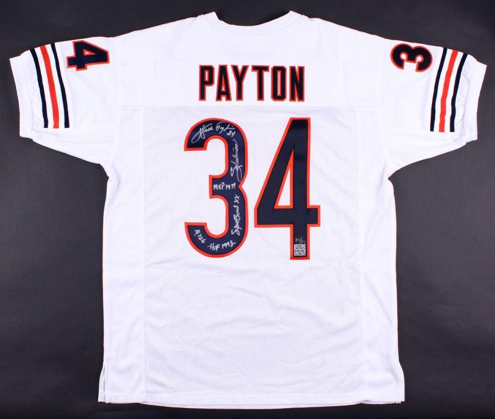 Payton Payton Number Jersey Number Jersey Payton Number Jersey Number Jersey Payton Payton