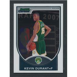 2007-08 Bowman Chrome #111 Kevin Durant RC #0982/2999