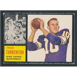 1962 Topps #90 Fran Tarkenton SP RC