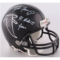 "Brett Favre Signed Falcons Mini-Helmet Inscribed ""1991 Rookie Year"" (Favre COA)"