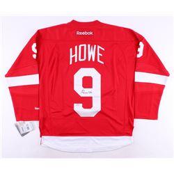 Gordie Howe Signed Red Wings Jersey (Steiner COA)