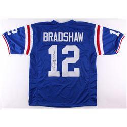 Terry Bradshaw Signed Louisiana Tech Bulldogs Jersey (JSA COA)