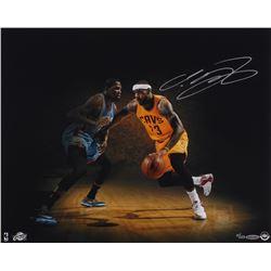 LeBron James Signed LE Cavaliers 16x20 Photo (UDA COA)