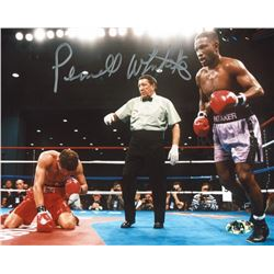 Pernell Whitaker Signed 8x10 Photo (MAB Hologram)