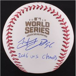 "Hector Rondon Signed 2016 World Series Baseball Incribed ""2016 WS Champs"" (Schwartz COA)"
