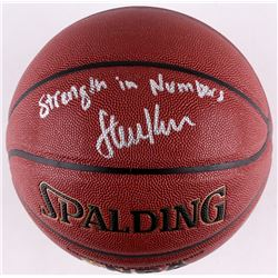 Steve Kerr Signed Spalding Basketball  Strength In Numbers  (Schwartz COA)