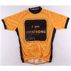 Lance Armstrong Signed Nike Live Strong Cycling Jersey (Schwartz COA)