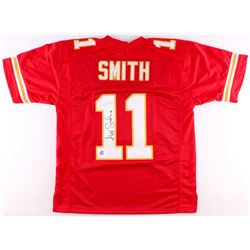 Alex Smith Signed Chiefs Jersey (JSA COA  LOJO COA)