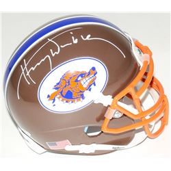 "Henry Winkler Signed "" Waterboy"" Mud Dogs Mini-Helmet (Schwartz COA)"