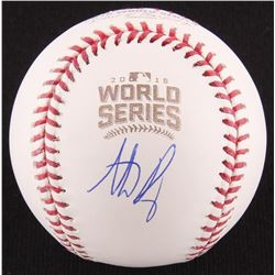 Anthony Rizzo Signed 2016 World Series Baseball (MLB  Fanatics Hologram)