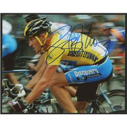 Lance Armstrong Signed 2005 Tour De France 8x10 Photo (Schwartz COA)