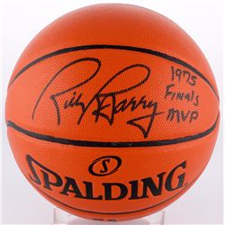 "Rick Barry Signed Basketball Inscribed ""1975 Finals MVP"" (Schwartz COA)"