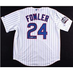 Dexter Fowler Signed Cubs Majestic Jersey (Schwartz COA)