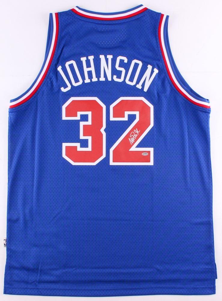 ca58aa034 Image 1   Magic Johnson Signed 1992 NBA All-Star Jersey (Schwartz COA)