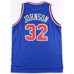Magic Johnson Signed 1992 NBA All-Star Jersey (Schwartz COA)