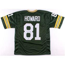 """Desmond Howard Signed Packers Jersey Inscribed """"S.B. XXXI MVP"""" (Schwartz COA)"""