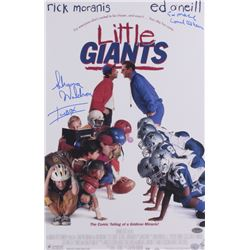 "Shawna Waldron  Ed O'Neill Signed ""Little Giants"" 11x17 Movie Poster Photo Inscribed ""Icebox""  ""Coac"