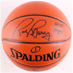 "Rick Barry Signed Basketball Inscribed ""HOF 1987"" (Schwartz COA)"