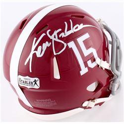 Ken Stabler Signed Alabama Mini Speed Helmet (Radtke COA)