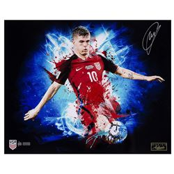 "Christian Pulisic Signed Team USA ""Highlight"" 16x20 Limited Edition Photo (Panini COA)"