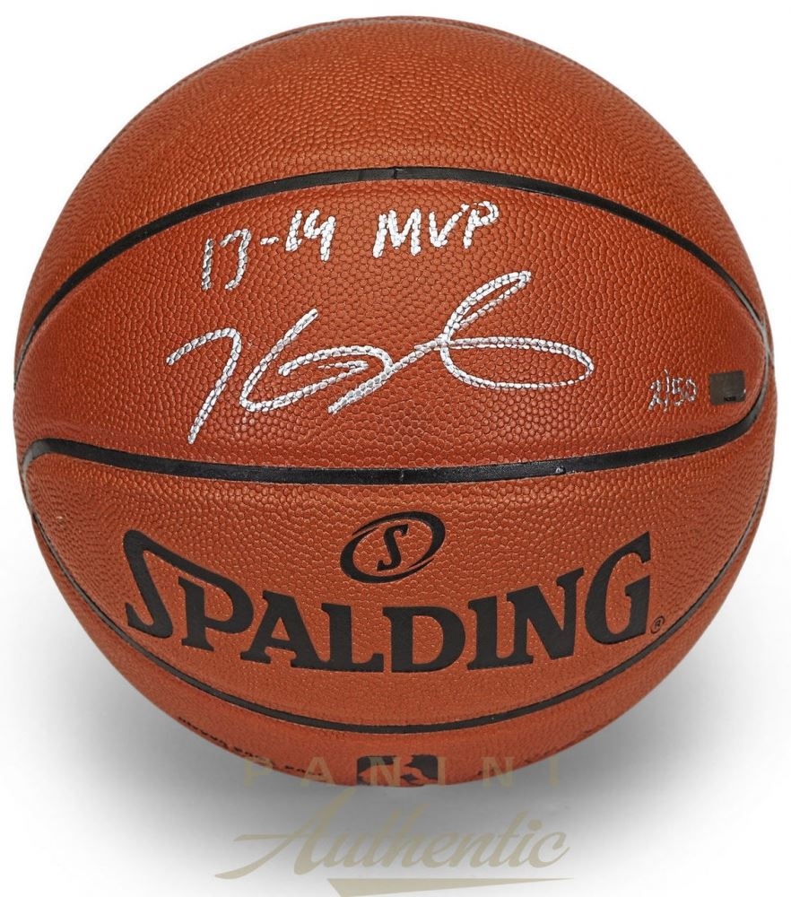 big sale a1513 51c9e Kevin Durant Signed Limited Edition Basketball Inscribed