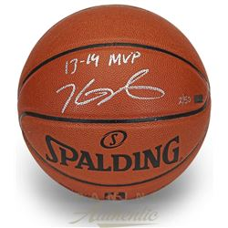Kevin Durant Signed Limited Edition Basketball Inscribed  13-14 MVP  (Panini COA)
