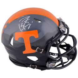 Peyton Manning Signed Tennessee Volunteers Mini Speed Helmet (Fanatics)