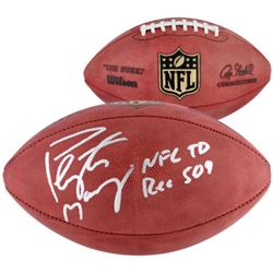 "Peyton Manning Signed ""The Duke"" Official NFL Game Ball Inscribed ""NFL TD REC 509"" (Fanatics)"