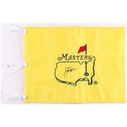 Jack Nicklaus Signed Masters Pin Flag (JSA ALOA)