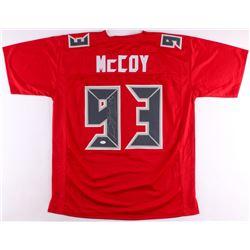 Gerald McCoy Signed Buccaneers Jersey (JSA COA)