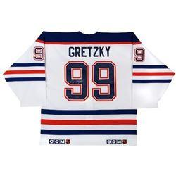Wayne Gretzky Signed Oilers CCM Jersey (UDA COA)