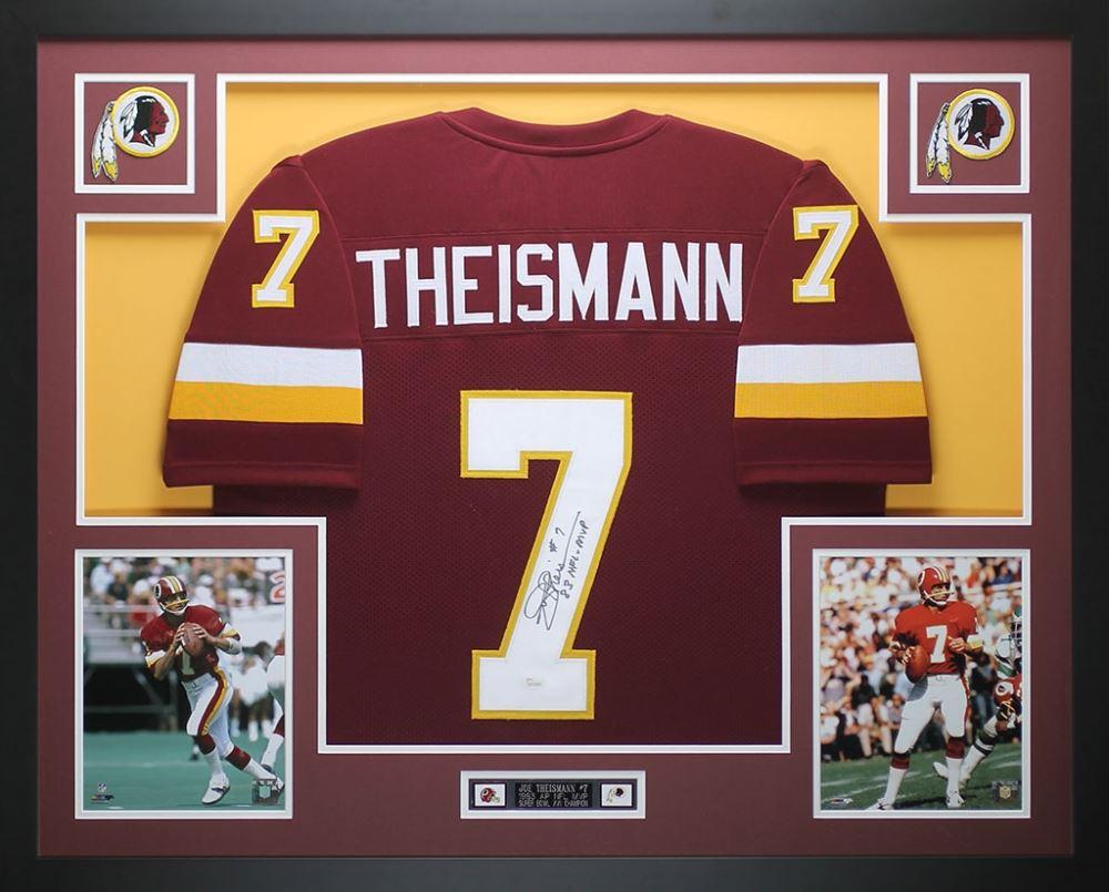 7cad4d35f Image 1   Joe Theismann Signed Redskins 35
