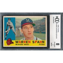 1960 Topps #445 Warren Spahn (BCCG 8)