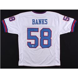 Carl Banks Signed Giants Jersey (JSA COA)