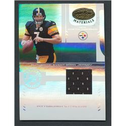 2004 Leaf Certified Materials #227 Ben Roethlisberger Jersey RC #1021/1250