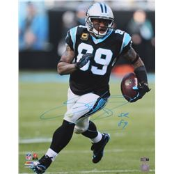 Steve Smith Sr. Signed Panthers 16x20 Photo (Radtke COA)